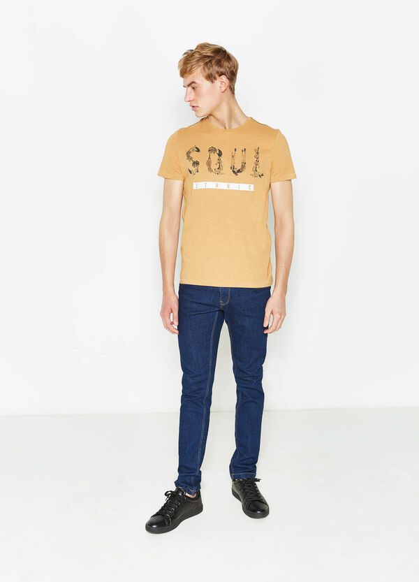 T-shirt in cotone con stampa G&H | OVS