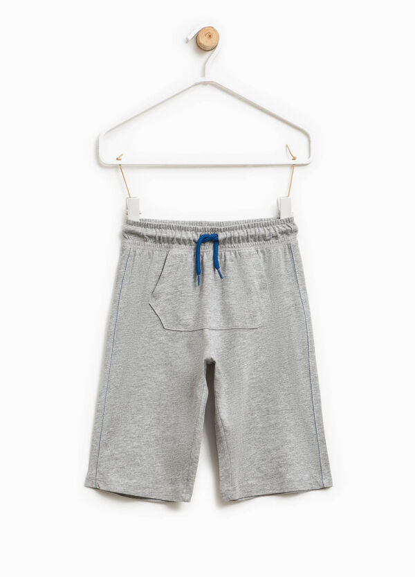 Bermuda shorts with pouch pocket | OVS