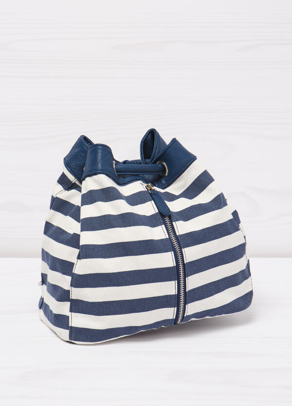 Bag with striped pattern. | OVS