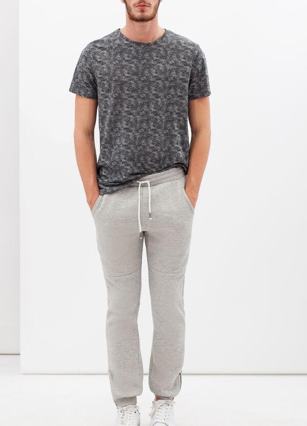Pantaloni in felpa di misto cotone | OVS