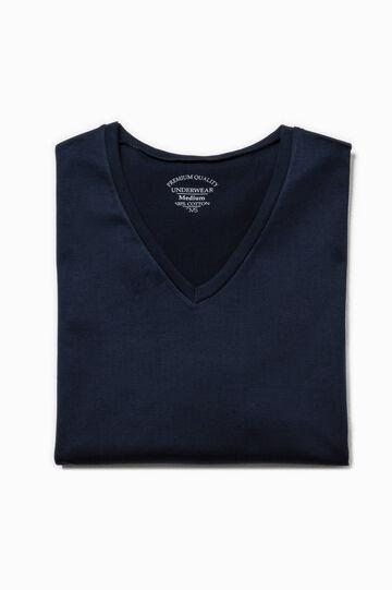Camiseta interior de algodón