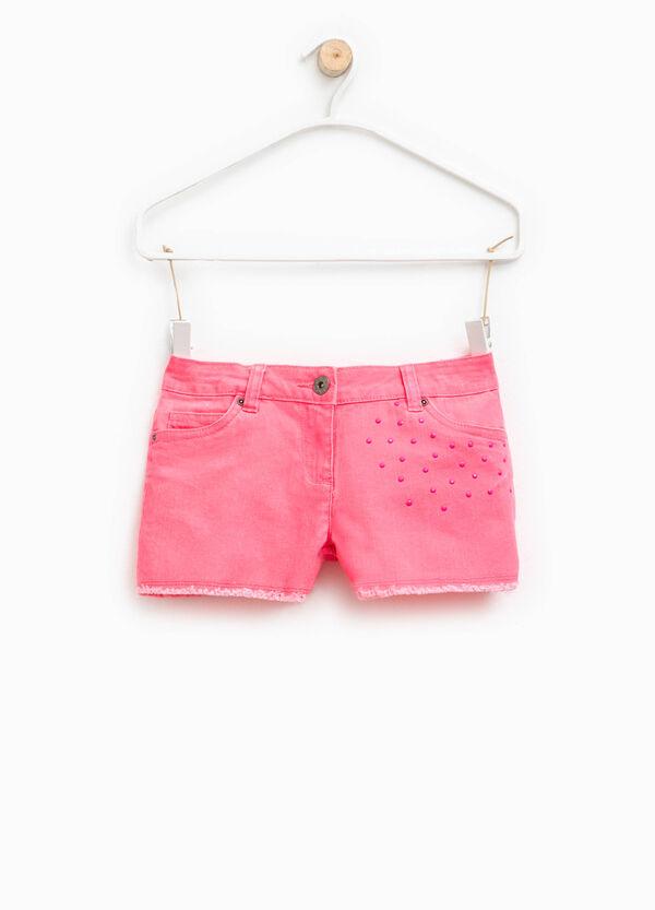 Shorts elásticos con strass | OVS