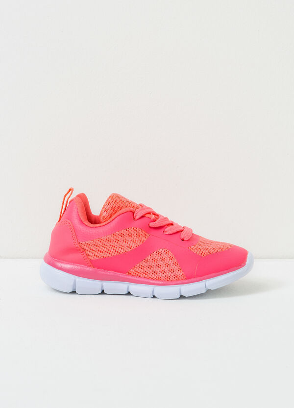 Openwork lace-up sneakers   OVS