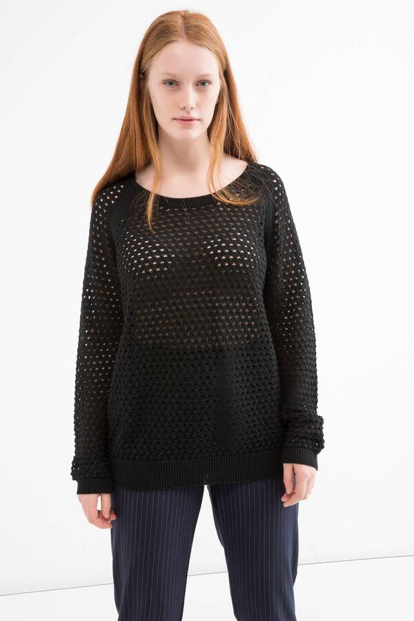 Curvy 100% cotton pullover | OVS