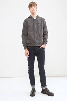 G&H hooded jacket, Grey, hi-res