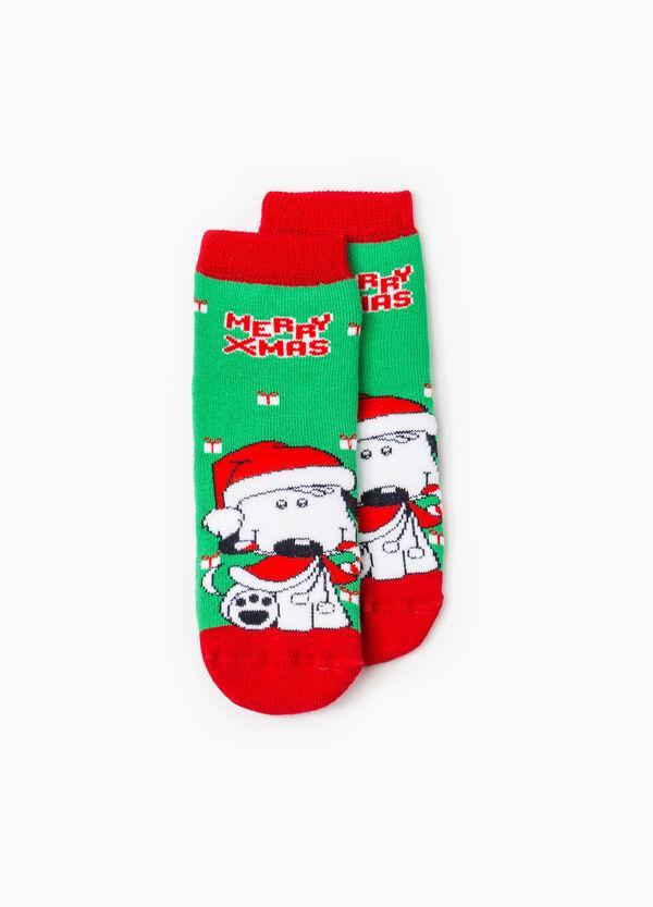 Calze antiscivolo fantasia natalizia | OVS