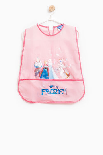 Frozen apron for painting, Pink, hi-res