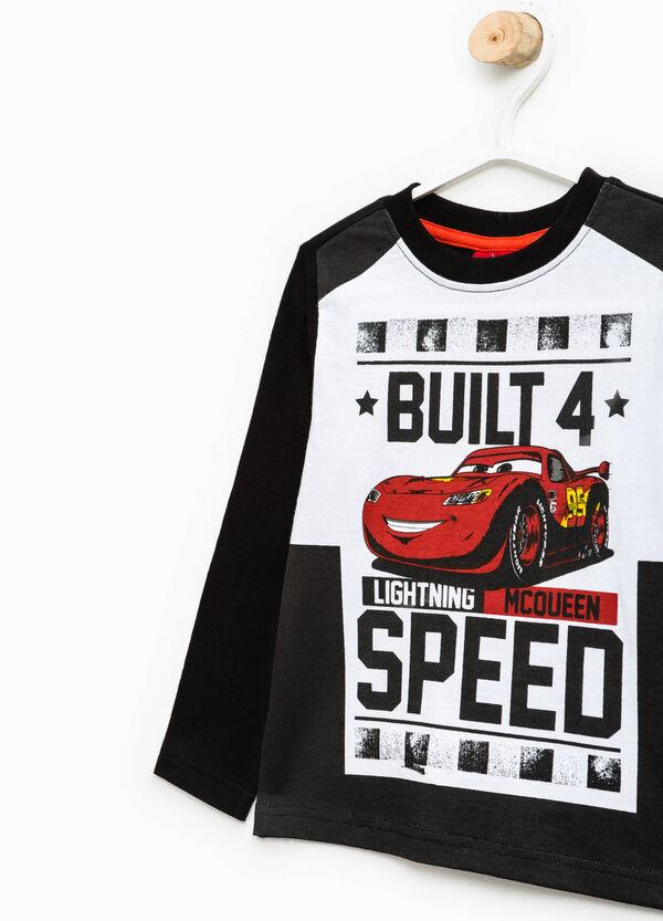 Maxi Cars print T-shirt in 100% cotton | OVS