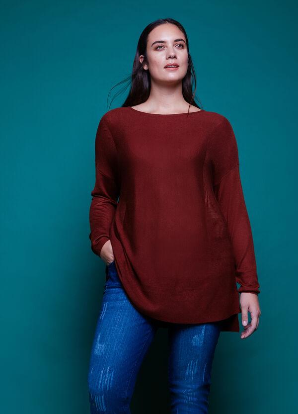 Pullover misto lana tinta unita Curvy | OVS