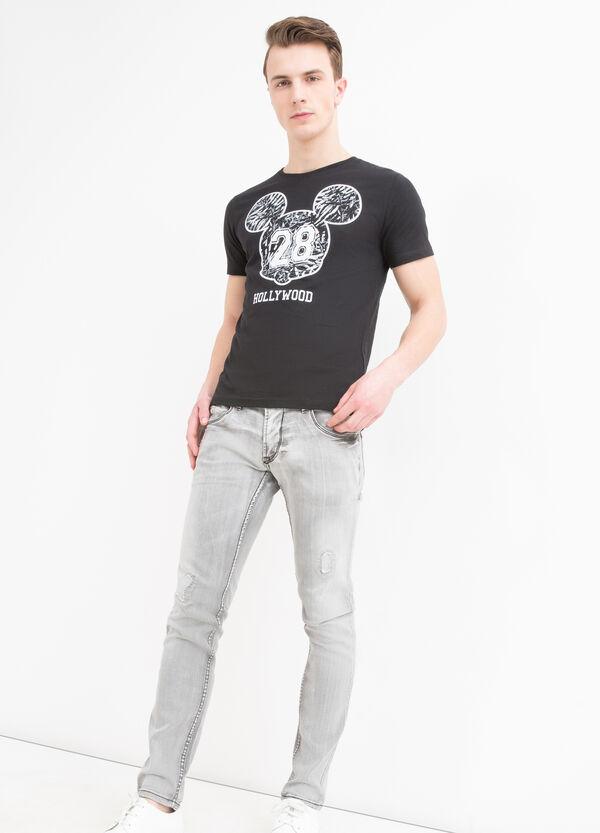 T-shirt cotone stampa Disney | OVS