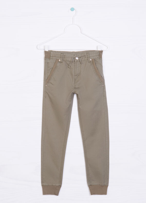 Pantaloni puro cotone | OVS