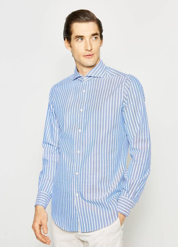 Slim-fit striped Rumford shirt | OVS