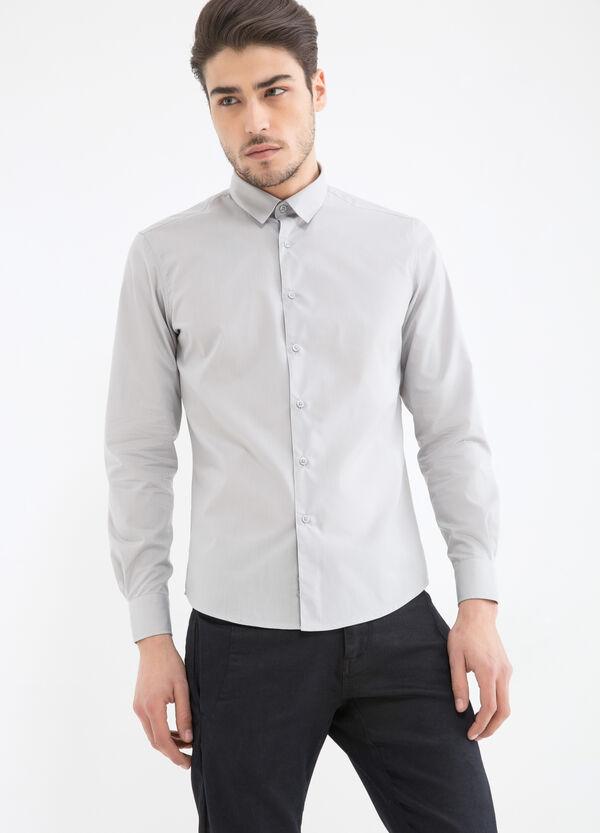 Camicia misto cotone slim fit | OVS