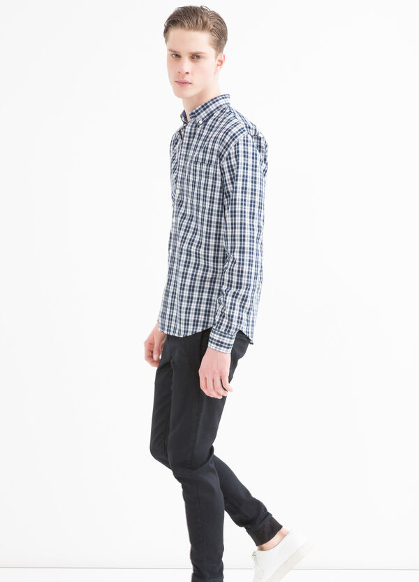 Tartan shirt in cotton blend | OVS