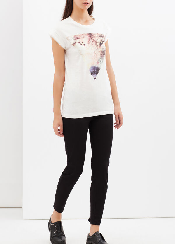 T-shirt with photographic print | OVS