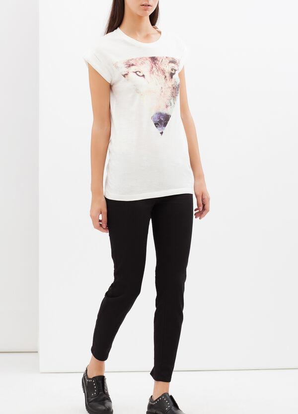 T-shirt con stampa fotografica | OVS