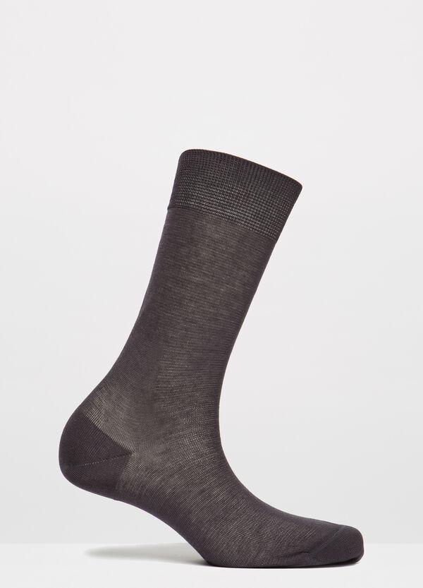 Solid colour cotton short socks | OVS