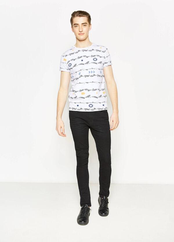 Camiseta en algodón 100% con fantasía G&H | OVS