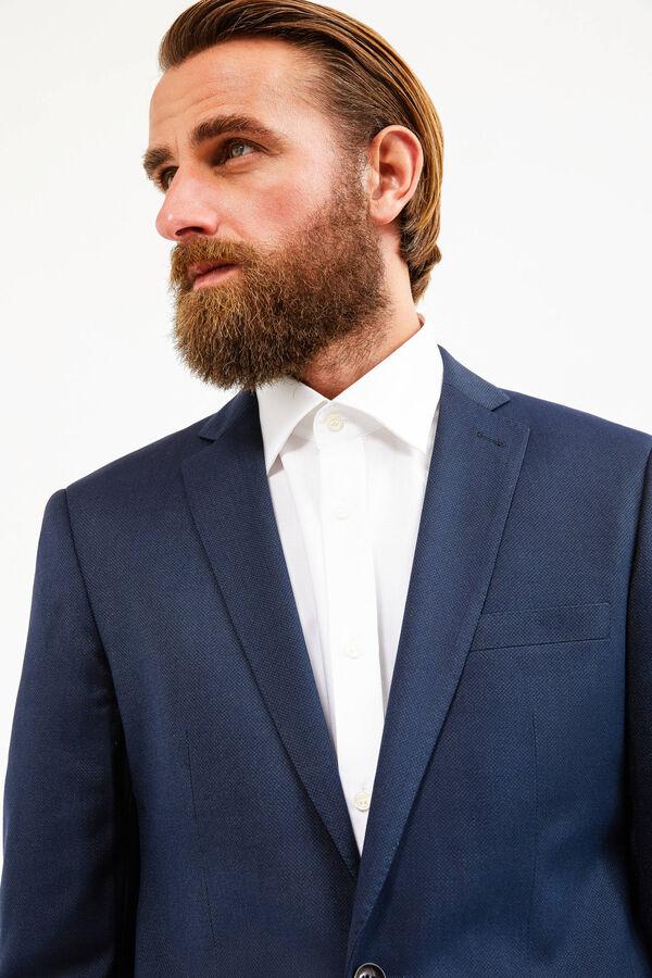 Elegant, viscose blend suit with regular fit   OVS