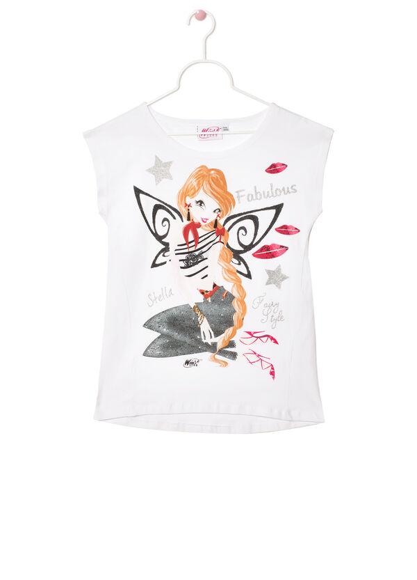 Stretch T-shirt with Winx Club print | OVS