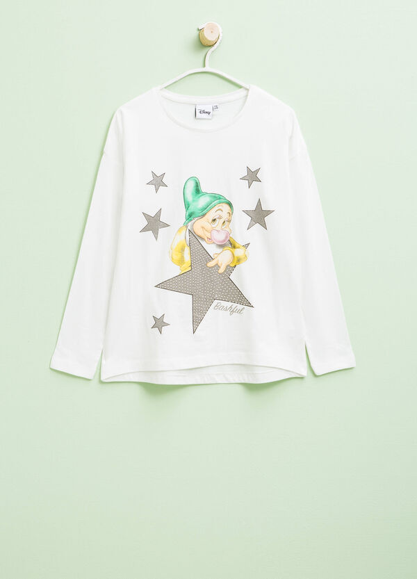 The Seven Dwarves print T-shirt with diamantés | OVS