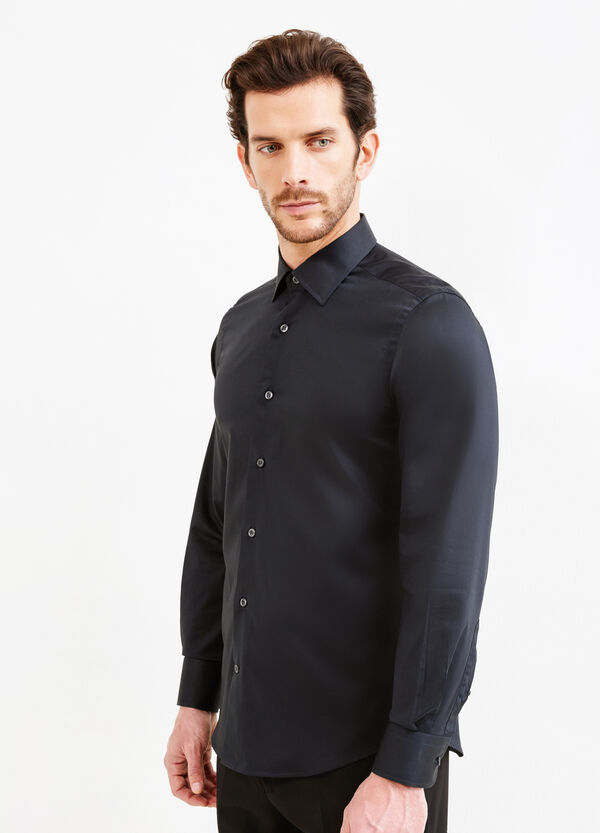 Slim-fit, formal shirt with bluff collar | OVS