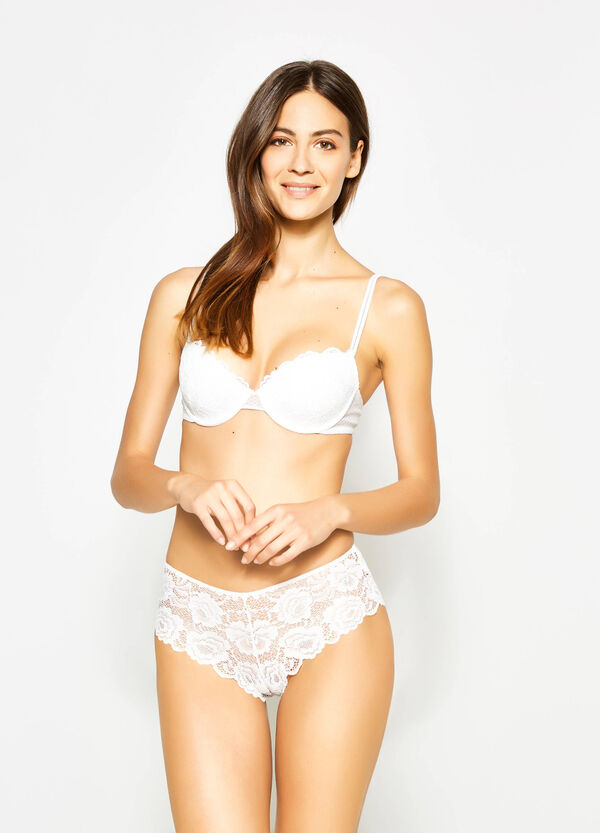 French knickers in stretch lace | OVS
