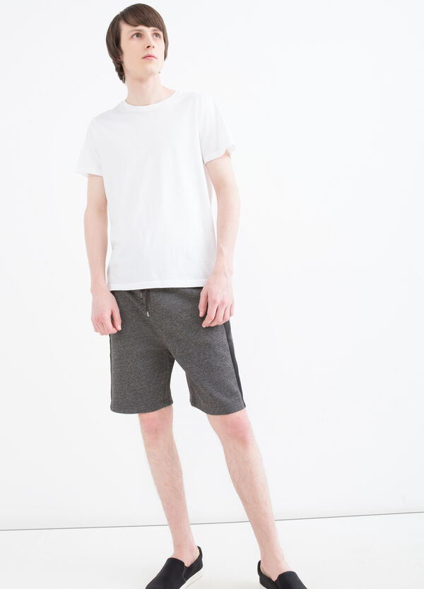 100% cotton shorts with drawstring | OVS