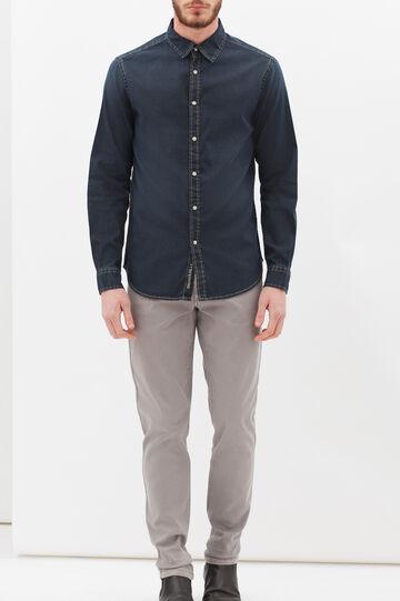 Camicia in jeans G&H, Blu, hi-res