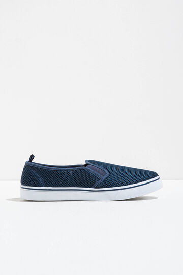 Slip-ons with mesh upper, Black, hi-res