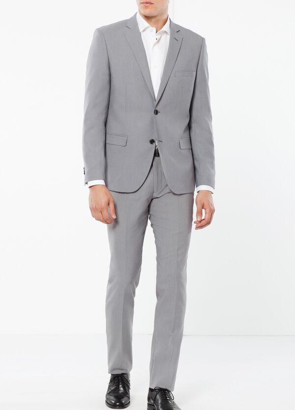 Elegant slim-fit suit in stretch viscose   OVS