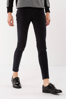 Cotton trousers, Dark Grey, hi-res