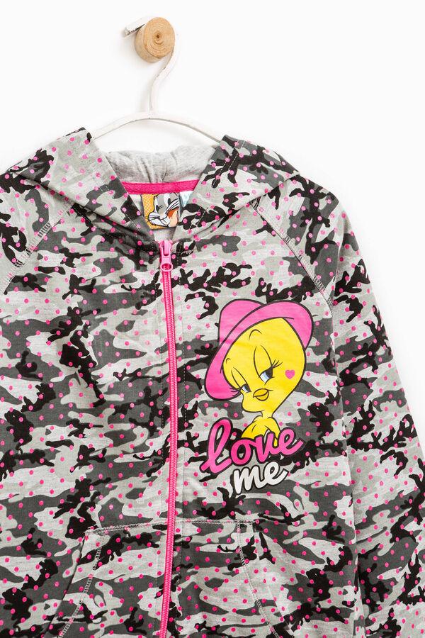 100% cotton sweatshirt with Tweetie Pie print | OVS