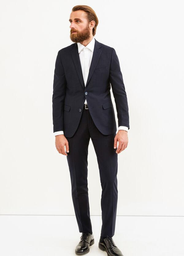 Elegant, slim-fit suit in viscose   OVS