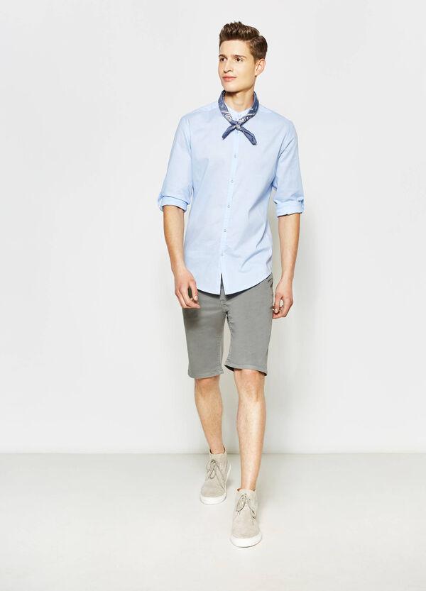 Slim-fit, casual shirt with Mandarin collar | OVS