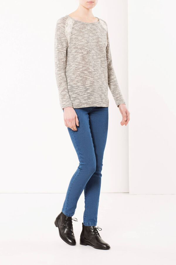 Sweater with lace | OVS