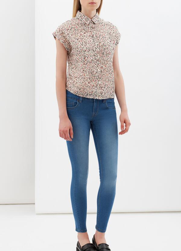 Sleeveless shirt with pockets | OVS
