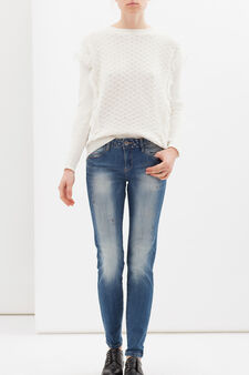 Slim fit stretch jeans, Light Wash, hi-res