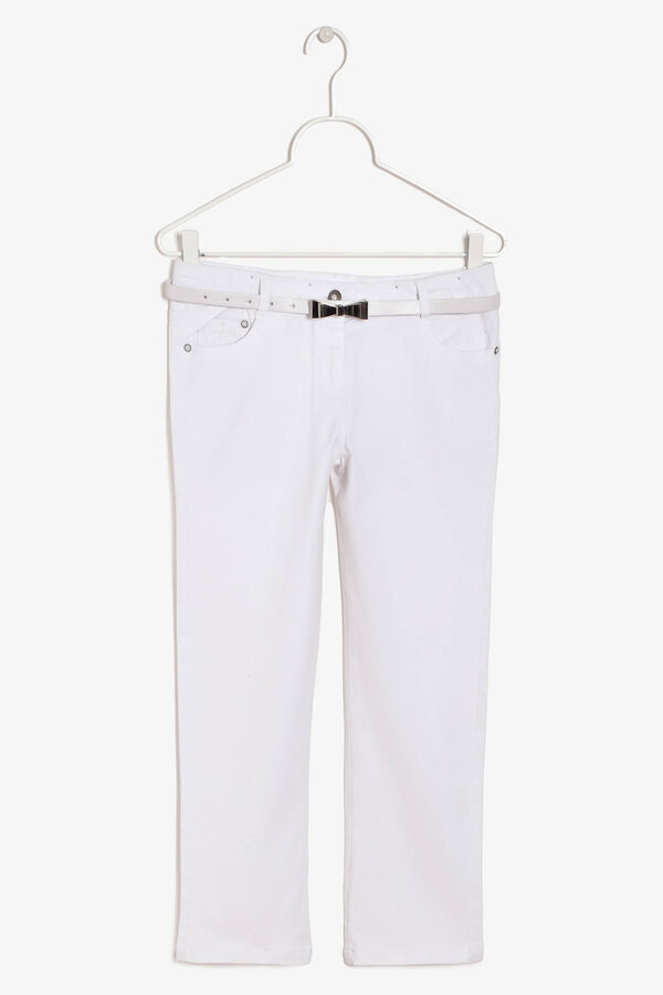 Trousers with belt | OVS