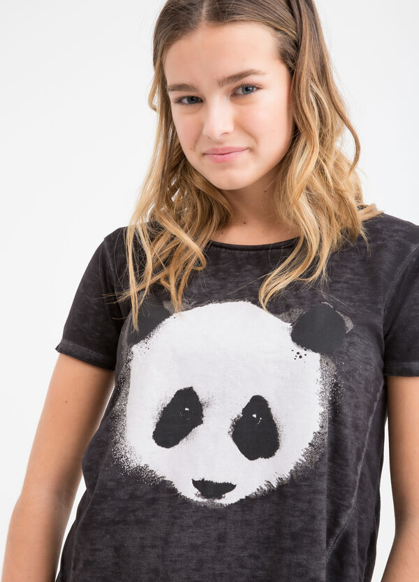 T-shirt con stampa Teen | OVS