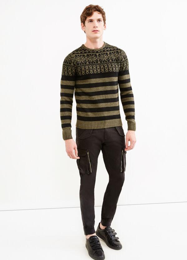 Pantaloni cargo caviglie con zip | OVS