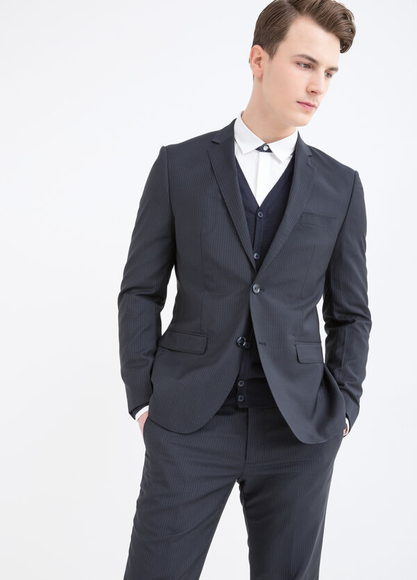 Elegant pinstripe suit in wool | OVS