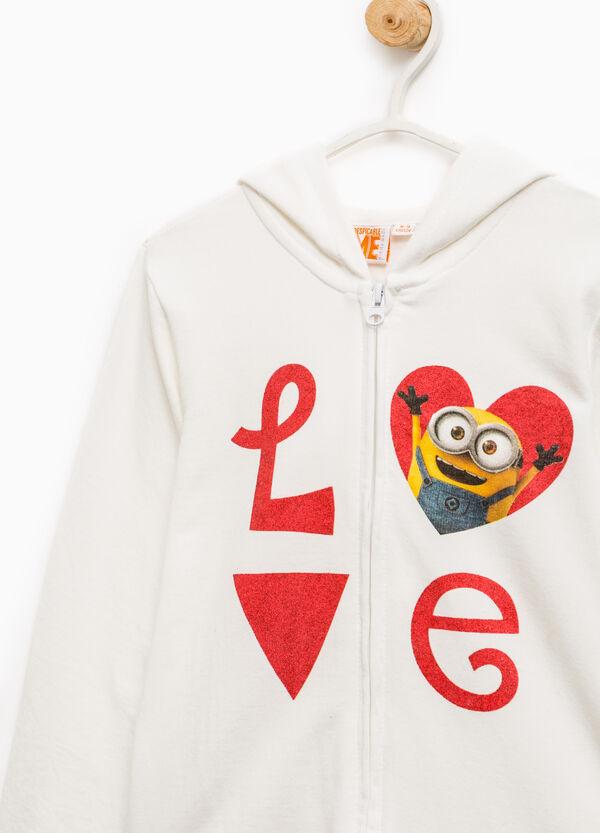 100% cotton sweatshirt with Minions print | OVS