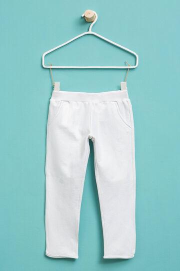 Stretch glitter trousers