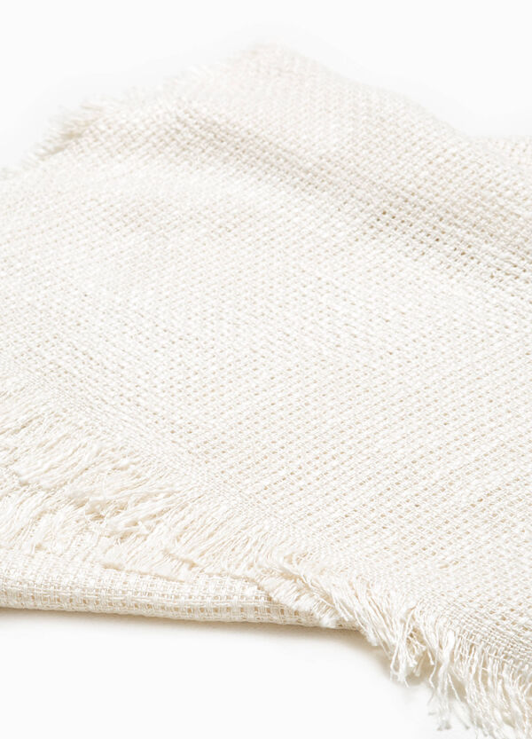 100% viscose knitted scarf | OVS
