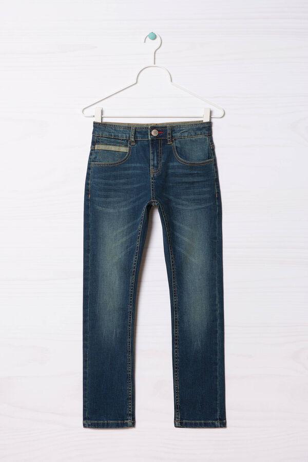 Slim-fit, worn-effect jeans | OVS