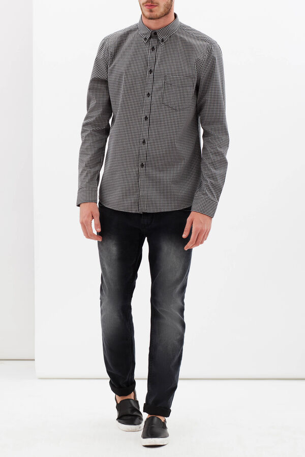 Slim-fit check shirt | OVS
