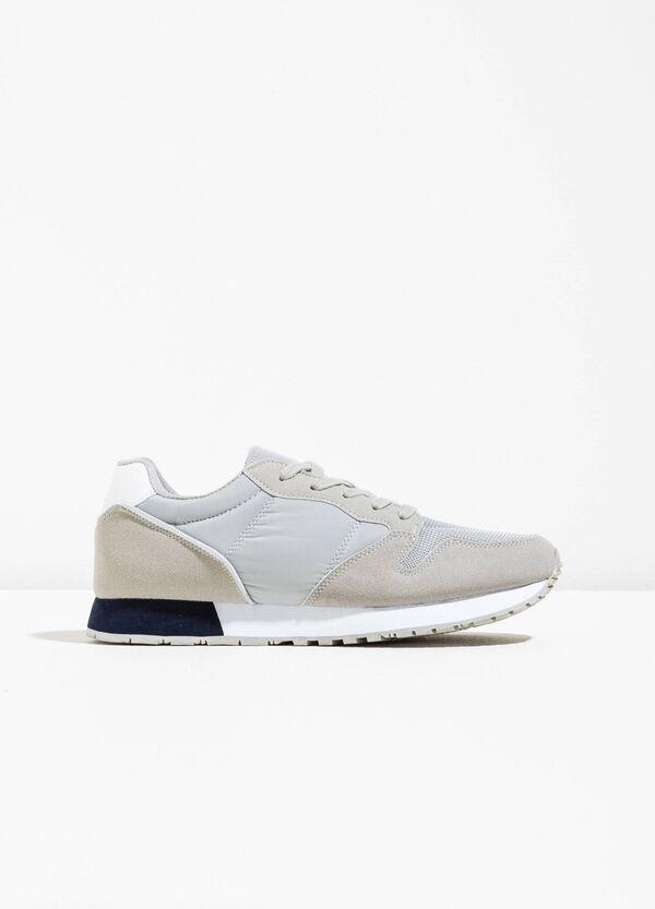 Sneakers con retro a contrasto | OVS