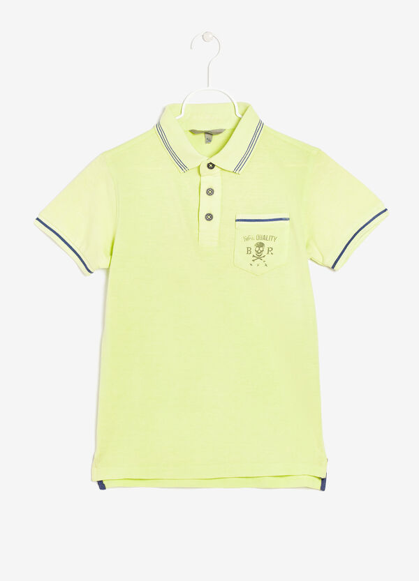Polo shirt with breast pocket | OVS