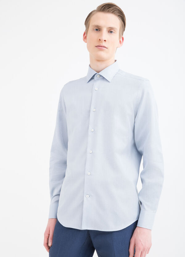 Slim-fit shirt in 100% cotton | OVS